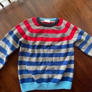 Hanna Andersson Boys Striped Crewneck Sweater